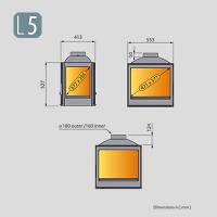 Liseo L5 4 üveges